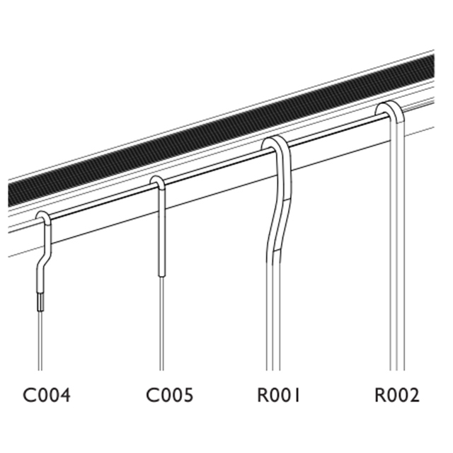 Picture Hanging System, Ceiling Track: T102