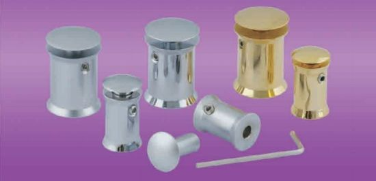 CH Series-Brass Dome Top Sign Standoffs With Lateral Lock