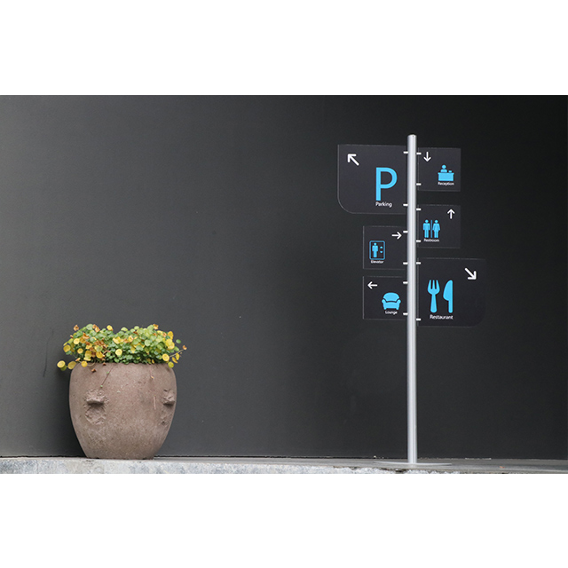 Display Frame Way Finding Sign